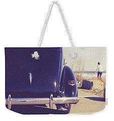 Weekender Tote Bag featuring the photograph Beach Memories by Edward Fielding