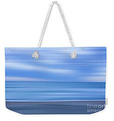 Beach Ocean Blur Weekender Tote Bag by Randy Steele