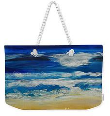 Beach Ocean Sky Weekender Tote Bag