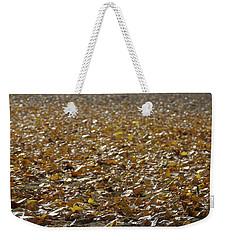 Beach Of Autumn Leaves Weekender Tote Bag