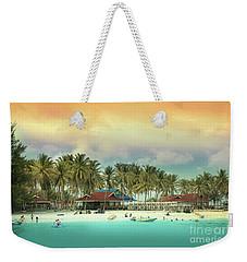 Beach On Darawan Island Weekender Tote Bag by Charuhas Images