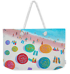 Beach Painting - A Walk In The Sun Weekender Tote Bag