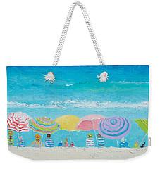 Beach Painting - Color Of Summer Weekender Tote Bag by Jan Matson