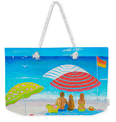 Beach Painting - Endless Summer Days Weekender Tote Bag