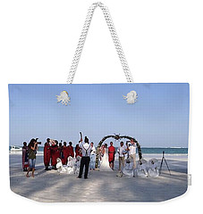 Beach Panoramic Wedding  Weekender Tote Bag