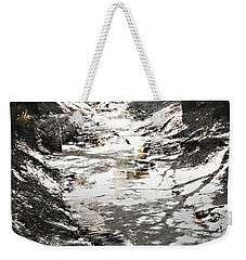 Beach Park Storm Drain Weekender Tote Bag by Steve Sperry