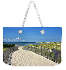 Beach Path At Cape Henlopen State Park - The Point - Delaware Weekender Tote Bag