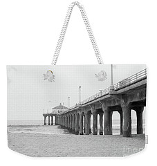 Beach Pier Film Frame Weekender Tote Bag