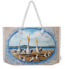 Privileged. Pelican  Procedure Prevailed   Weekender Tote Bag