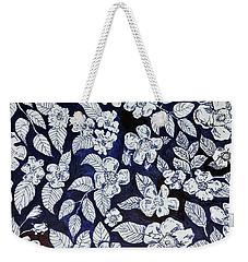 Beach Rose Pattern Weekender Tote Bag