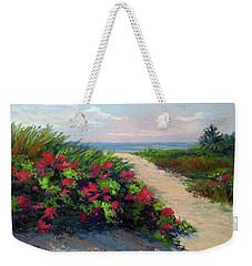 Beach Roses Weekender Tote Bag
