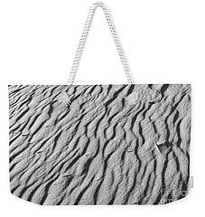 Beach Sand Mantle In Monochrome Weekender Tote Bag