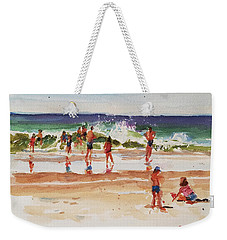 Beach Scene, Afternoon Weekender Tote Bag
