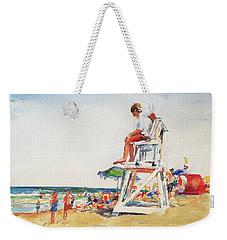 Beach Scene, Cape Cod Weekender Tote Bag