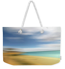 Beach Seascape Abstract Weekender Tote Bag by Gill Billington