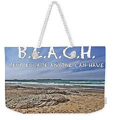 B.e.a.c.h. Weekender Tote Bag