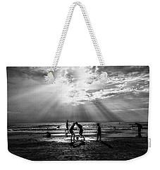 Beach Soccer Weekender Tote Bag