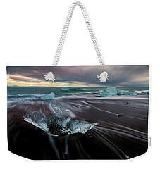 Beach Stranded Weekender Tote Bag by Allen Biedrzycki