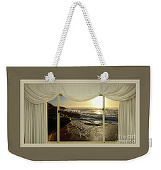Beach Sunrise From Your Home Or Office By Kaye Menner Weekender Tote Bag