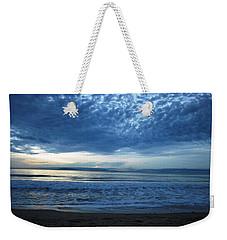 Beach Sunset - Blue Clouds Weekender Tote Bag