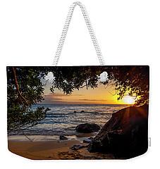 Beach Sunset Weekender Tote Bag