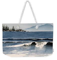 Beach Surf Weekender Tote Bag
