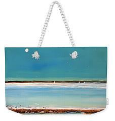 Beach Textures Weekender Tote Bag by Toni Grote