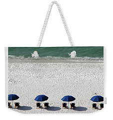 Weekender Tote Bag featuring the photograph Beach Therapy 2 by Marie Hicks