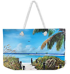 Beach Time On The Key Weekender Tote Bag