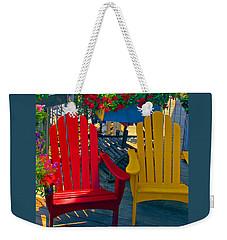 Beach Town Charm Weekender Tote Bag