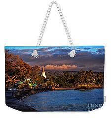 Beach Town Of Kailua-kona On The Big Island Of Hawaii Weekender Tote Bag