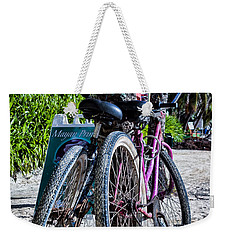 Weekender Tote Bag featuring the photograph Beach Transportation by Lawrence Burry