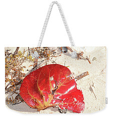 Weekender Tote Bag featuring the photograph Beach Treasures 1 by Melissa Lane