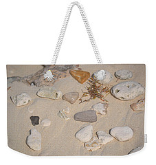 Weekender Tote Bag featuring the photograph Beach Treasures 2 by Melissa Lane