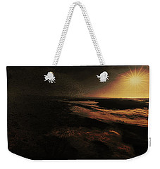 Weekender Tote Bag featuring the digital art Beach Tree by Richard Ricci