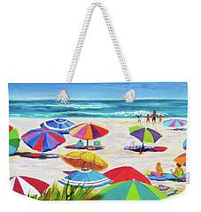 Umbrellas 2 Weekender Tote Bag by Anne Marie Brown