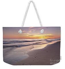 Beach Welcoming Twilight Weekender Tote Bag