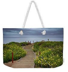 Beach Wildflowers Weekender Tote Bag