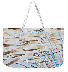 Weekender Tote Bag featuring the painting Beach Winds by Steven Macanka