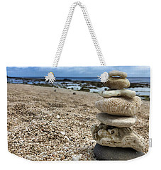 Weekender Tote Bag featuring the photograph Beach Zen by Brian Eberly
