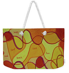 Beachday Two Weekender Tote Bag