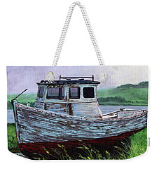 Beached At Bay Of Ayre Weekender Tote Bag