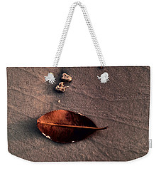 Beached Leaf Weekender Tote Bag