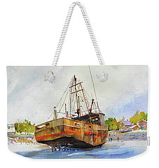 Beached Weekender Tote Bag