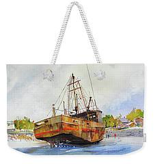 Beached Weekender Tote Bag