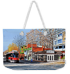 Beacher Cafe Weekender Tote Bag