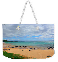 Weekender Tote Bag featuring the photograph Beaches Of Hawaii by Michael Rucker