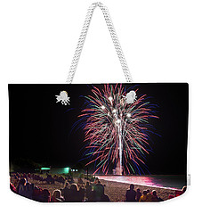 Weekender Tote Bag featuring the photograph Beachside Spectacular by Bill Pevlor