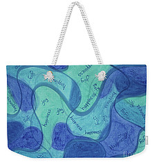 Beachy Three Weekender Tote Bag