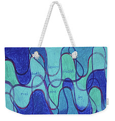 Beachy Two Weekender Tote Bag